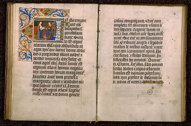 Paris, Bibl. Sainte-Geneviève, ms. 0110, f. 040v-041