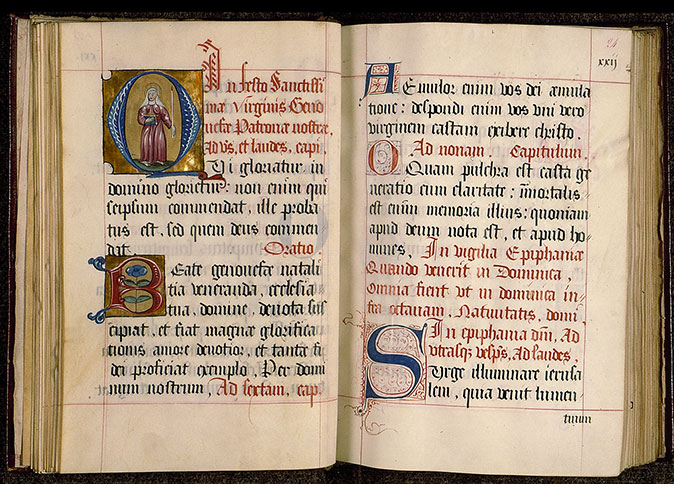 Paris, Bibl. Sainte-Geneviève, ms. 0120, f. 023v-024