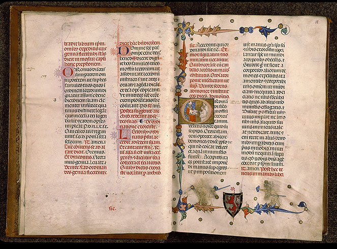 Paris, Bibl. Sainte-Geneviève, ms. 0143, f. 010v-011