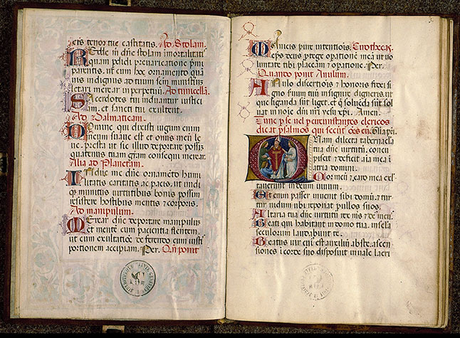 Paris, Bibl. Sainte-Geneviève, ms. 0147, f. 002v-003