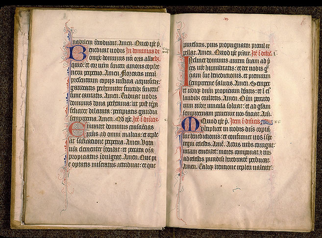 Paris, Bibl. Sainte-Geneviève, ms. 0148, f. 006v-007