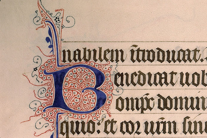 Paris, Bibl. Sainte-Geneviève, ms. 0148, f. 006v