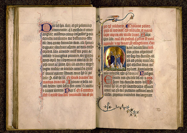 Paris, Bibl. Sainte-Geneviève, ms. 0148, f. 027v-028