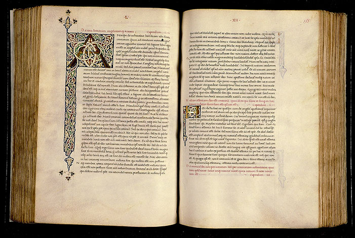 Paris, Bibl. Sainte-Geneviève, ms. 0218, f. 184v-185