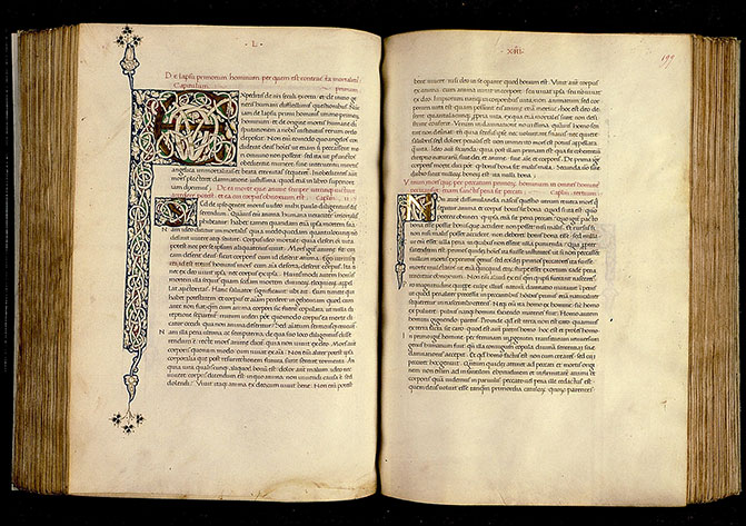 Paris, Bibl. Sainte-Geneviève, ms. 0218, f. 198v-199