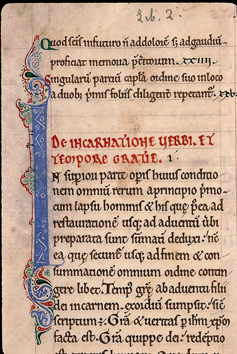 Paris, Bibl. Sainte-Geneviève, ms. 0255, f. 003v