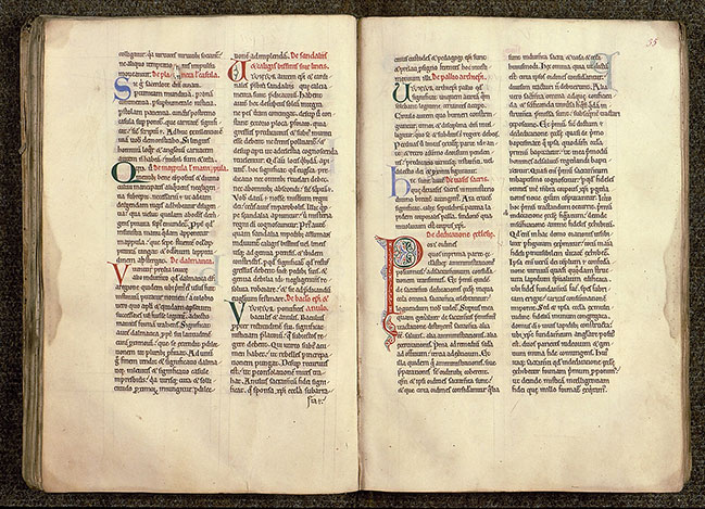 Paris, Bibl. Sainte-Geneviève, ms. 0255, f. 034v-035