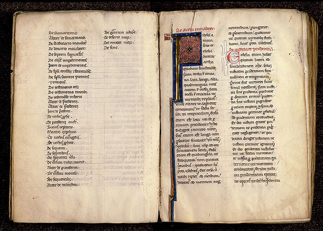 Paris, Bibl. Sainte-Geneviève, ms. 0259, f. 006v-007
