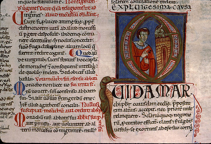 Paris, Bibl. Sainte-Geneviève, ms. 0341, f. 199