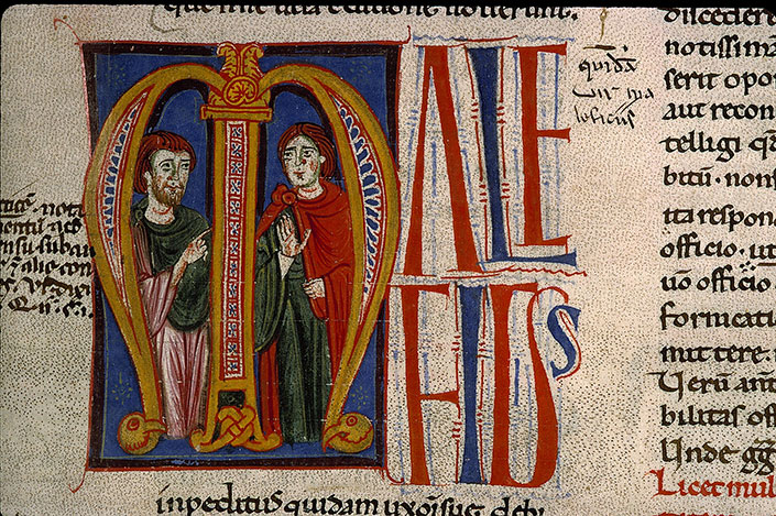 Paris, Bibl. Sainte-Geneviève, ms. 0341, f. 279