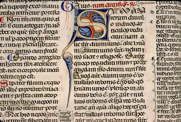 Paris, Bibl. Sainte-Geneviève, ms. 0393, f. 016v