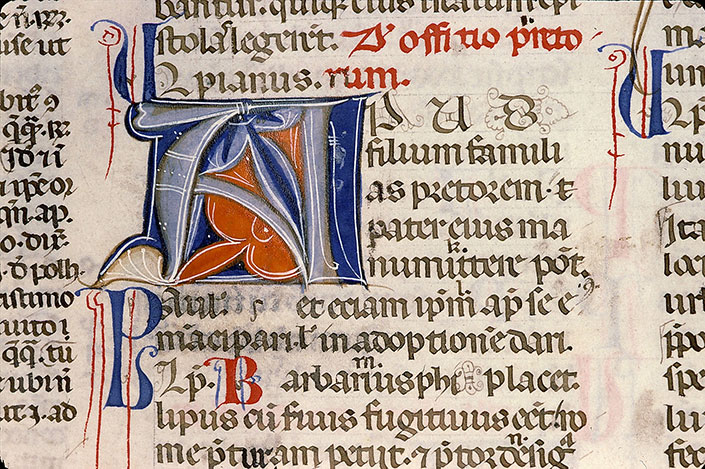 Paris, Bibl. Sainte-Geneviève, ms. 0393, f. 019v