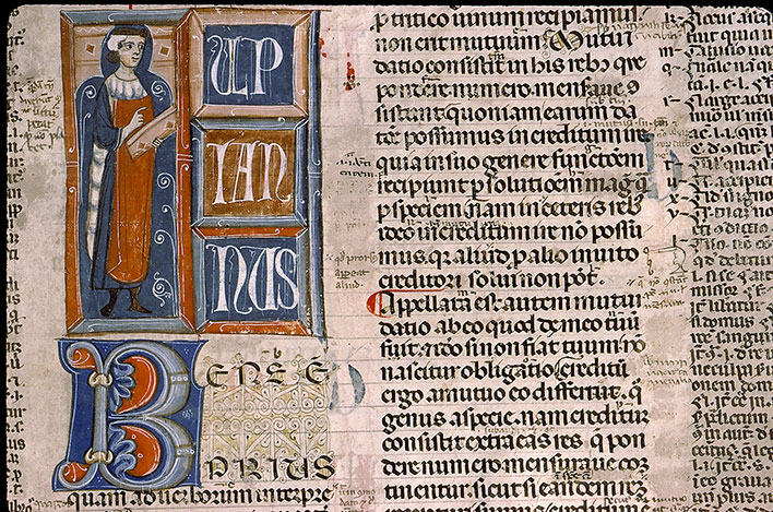 Paris, Bibl. Sainte-Geneviève, ms. 0393, f. 198