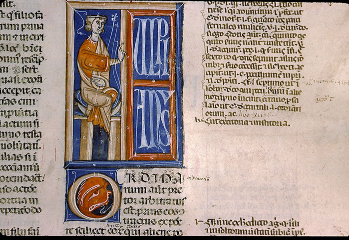 Paris, Bibl. Sainte-Geneviève, ms. 0393, f. 240