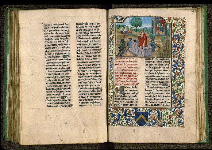 Paris, Bibl. Sainte-Geneviève, ms. 0585, f. 152v-153