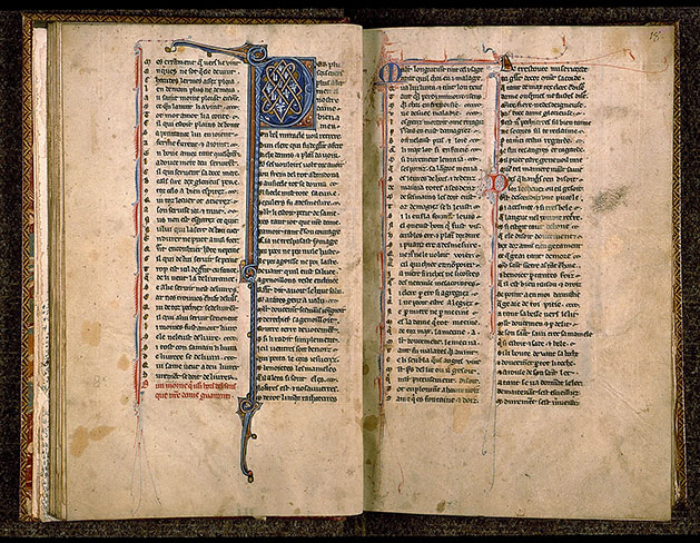 Paris, Bibl. Sainte-Geneviève, ms. 0586, f. 017v-018