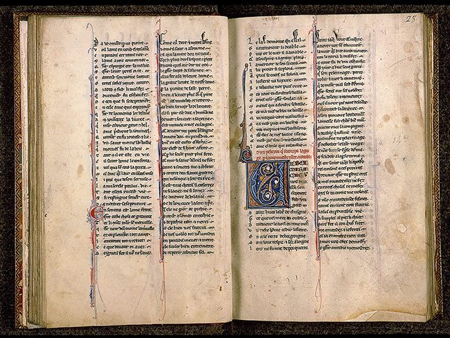 Paris, Bibl. Sainte-Geneviève, ms. 0586, f. 027v-028