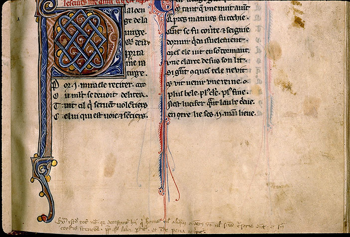 Paris, Bibl. Sainte-Geneviève, ms. 0586, f. 034