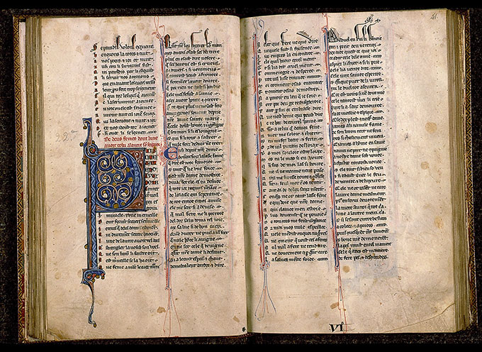 Paris, Bibl. Sainte-Geneviève, ms. 0586, f. 040v-041