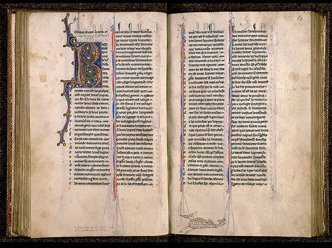 Paris, Bibl. Sainte-Geneviève, ms. 0586, f. 051v-052