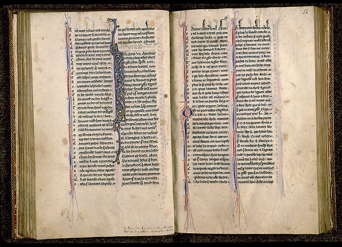 Paris, Bibl. Sainte-Geneviève, ms. 0586, f. 053v-054