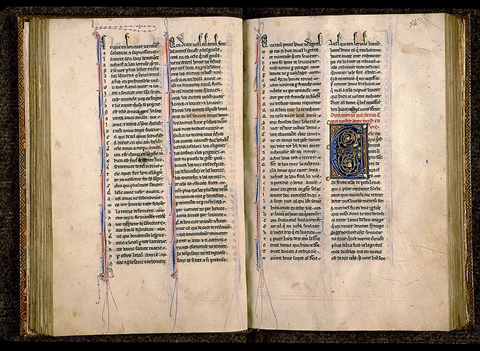 Paris, Bibl. Sainte-Geneviève, ms. 0586, f. 055v-056
