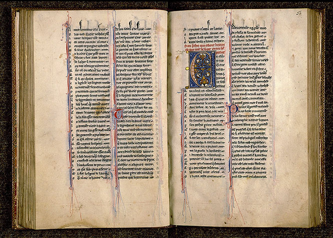 Paris, Bibl. Sainte-Geneviève, ms. 0586, f. 058v-059