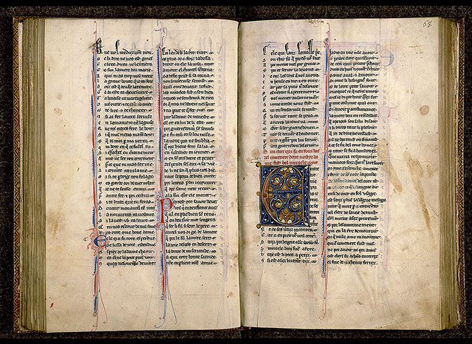 Paris, Bibl. Sainte-Geneviève, ms. 0586, f. 067v-068