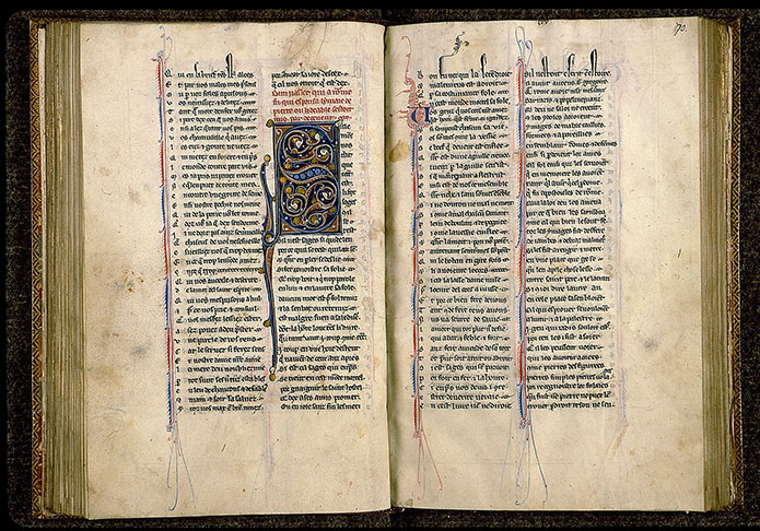 Paris, Bibl. Sainte-Geneviève, ms. 0586, f. 069v-070