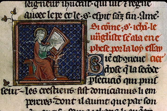 Paris, Bibl. Sainte-Geneviève, ms. 0588, f. 016v