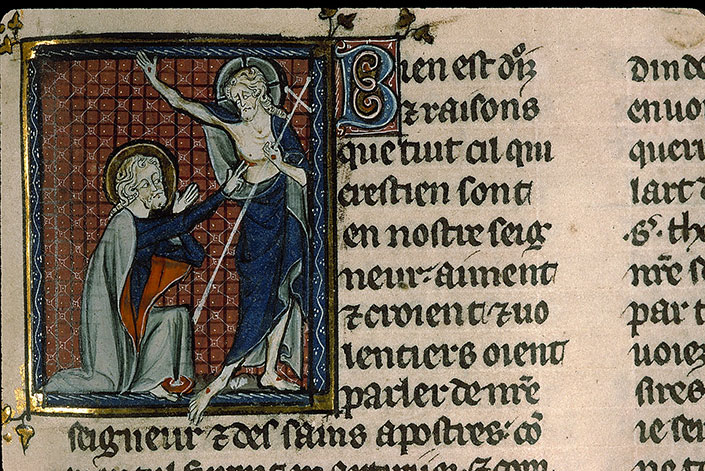 Paris, Bibl. Sainte-Geneviève, ms. 0588, f. 076