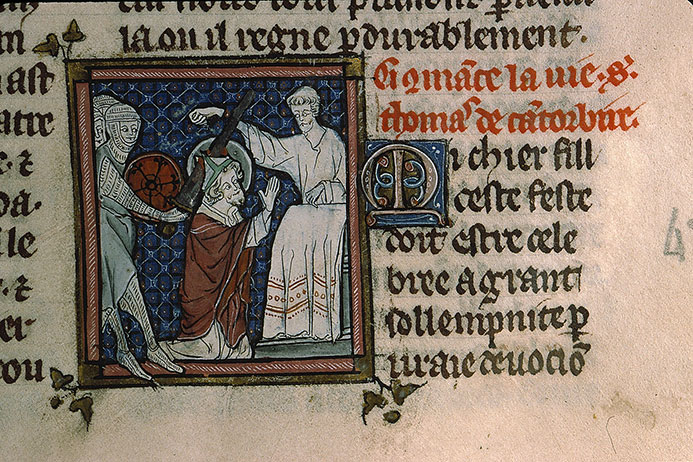 Paris, Bibl. Sainte-Geneviève, ms. 0588, f. 160