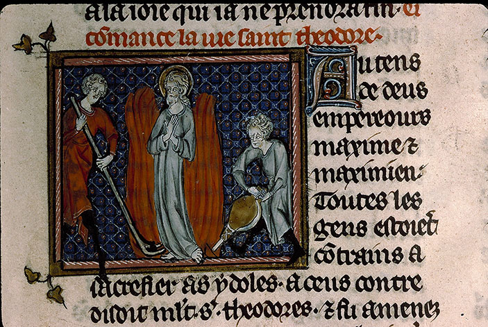 Paris, Bibl. Sainte-Geneviève, ms. 0588, f. 167