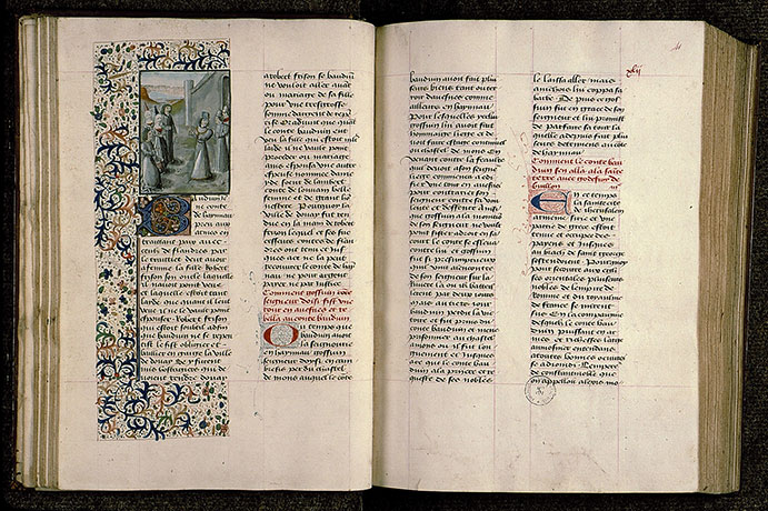 Paris, Bibl. Sainte-Geneviève, ms. 0811, f. 040v-041
