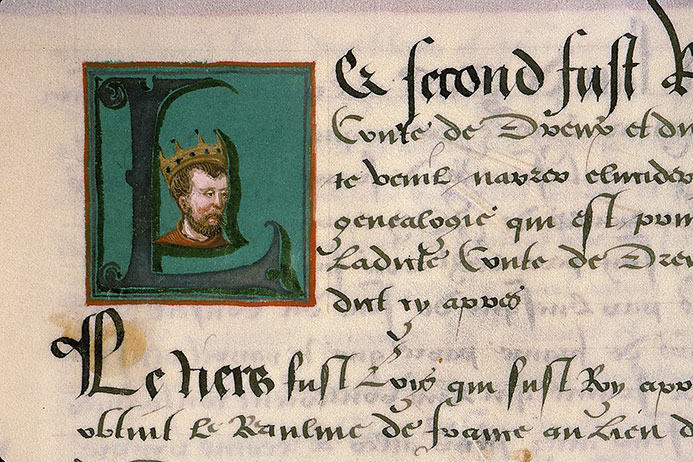 Paris, Bibl. Sainte-Geneviève, ms. 0855, p. 004
