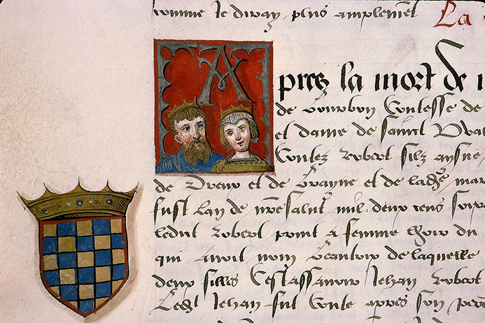 Paris, Bibl. Sainte-Geneviève, ms. 0855, p. 046