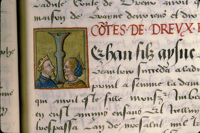 Paris, Bibl. Sainte-Geneviève, ms. 0855, p. 049