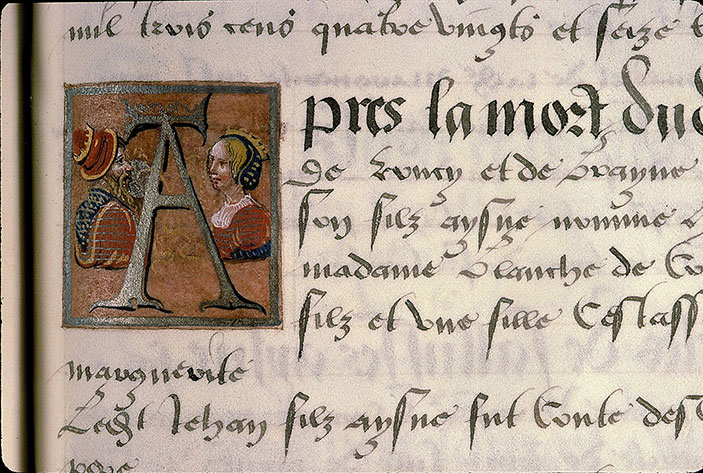 Paris, Bibl. Sainte-Geneviève, ms. 0855, p. 057