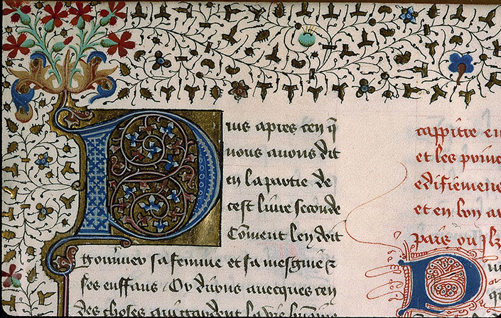 Paris, Bibl. Sainte-Geneviève, ms. 1015, f. 002