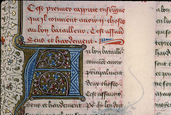 Paris, Bibl. Sainte-Geneviève, ms. 1015, f. 061
