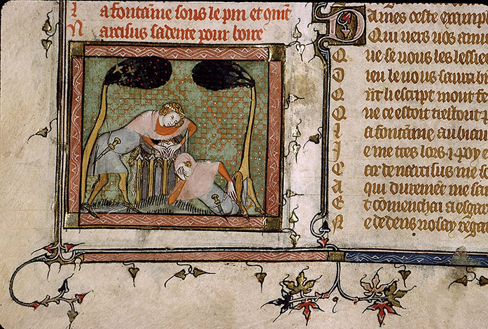 Paris, Bibl. Sainte-Geneviève, ms. 1126, f. 009v