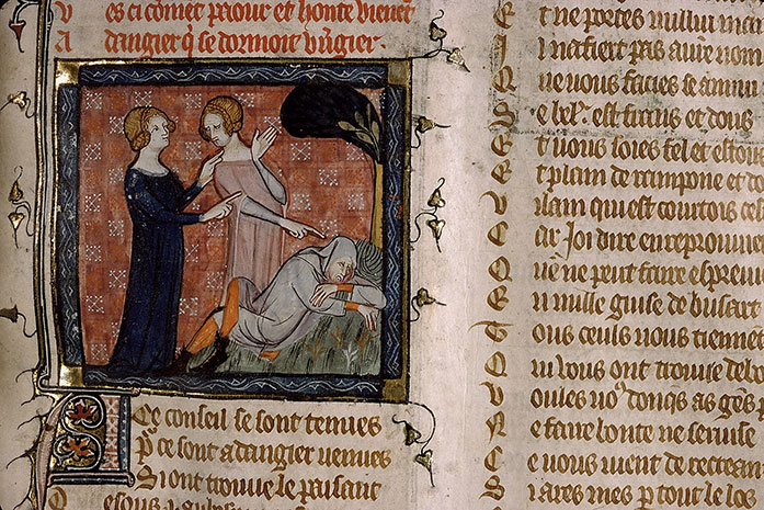 Paris, Bibl. Sainte-Geneviève, ms. 1126, f. 026