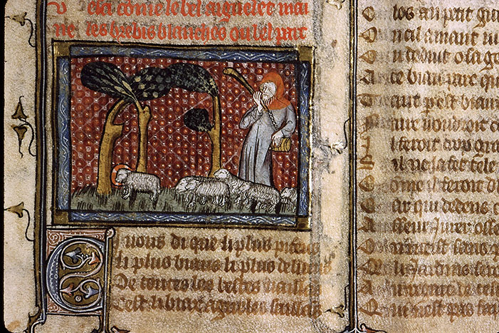 Paris, Bibl. Sainte-Geneviève, ms. 1126, f. 145