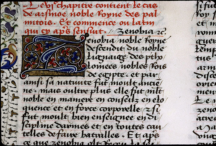 Paris, Bibl. Sainte-Geneviève, ms. 1129, f. 166