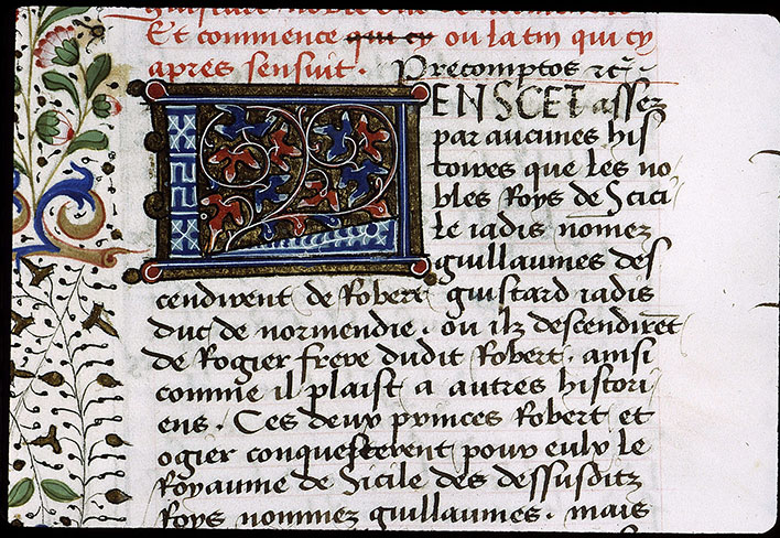 Paris, Bibl. Sainte-Geneviève, ms. 1129, f. 205v