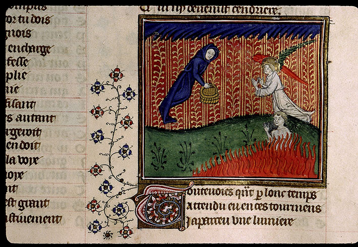 Paris, Bibl. Sainte-Geneviève, ms. 1130, f. 111