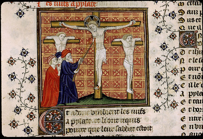 Paris, Bibl. Sainte-Geneviève, ms. 1130, f. 218v