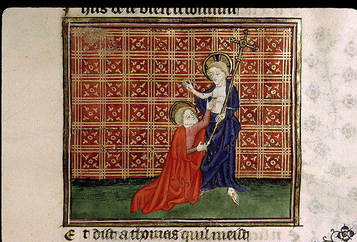 Paris, Bibl. Sainte-Geneviève, ms. 1130, f. 222