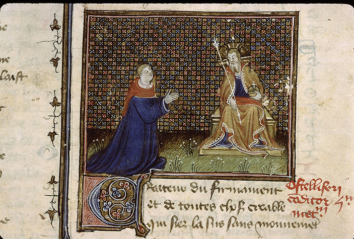 Paris, Bibl. Sainte-Geneviève, ms. 1132, f. 007v