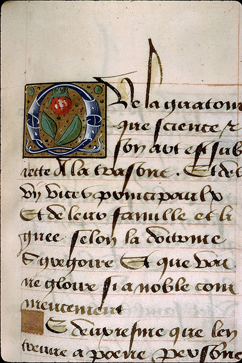 Paris, Bibl. Sainte-Geneviève, ms. 1145, f. 099